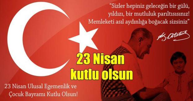23 Nisan Tebrik